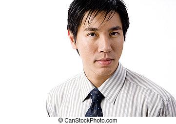 Business Person - A portratit of an asian businessman