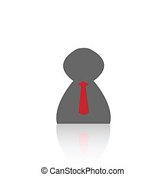 Business Person - Illustration of a business person isolated...