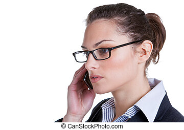Business phonecall