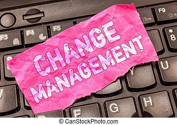business, photo, projection, écriture, note, direction, management., policies, organisation, showcasing, nouveau, changement, remplacement