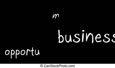 Business plan buzz words montage