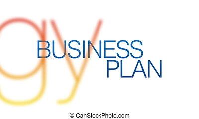 Business Plan Kinetic Typography