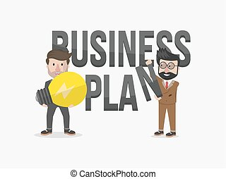 business plan lightbulb