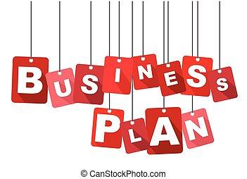 business plan, red vector business plan, flat vector business plan, background business plan