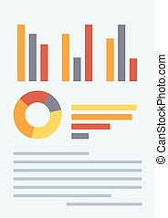 Business plan vector illustration.