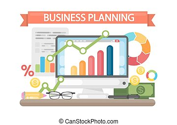 Business planning concept.