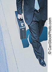 Business power walk