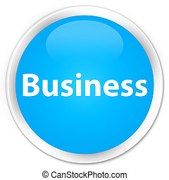 Business premium cyan blue round button
