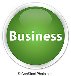 Business premium soft green round button