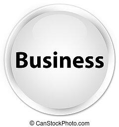 Business premium white round button