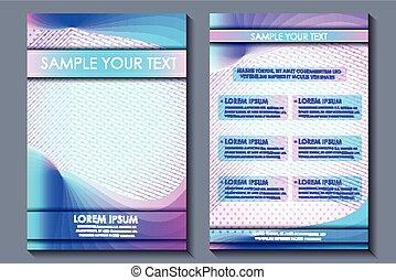 Business presentation broucher design