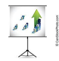 business presentation illustration design