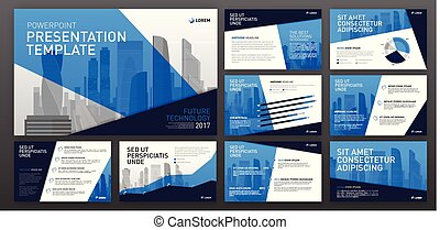 Business presentation templates. Use for ppt layout,...