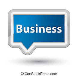 Business prime blue banner button