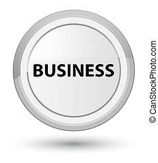 Business prime white round button