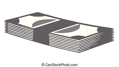 business process concept on white background
