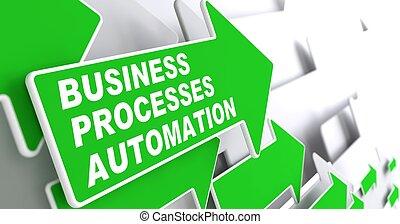 Business Processes Automation Concept. - Business Processes...