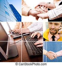 business professionals - concept made from my images and ...