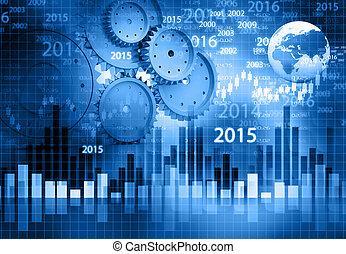 business, profit, analyse, financier, fond