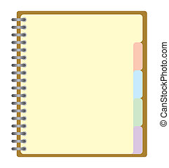 Business project planner book - Weekly business project...