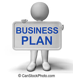 business, projection, mission, signe, plan, organiser