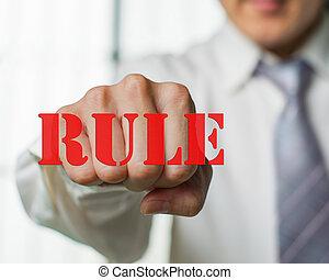 business, règle, n, coupure, chance, vouloir, ew, homme