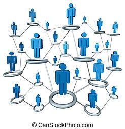 business, réseau