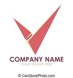 business, résumé, illustration, signe, vecteur, conception, gabarit, logo, symbole, icône