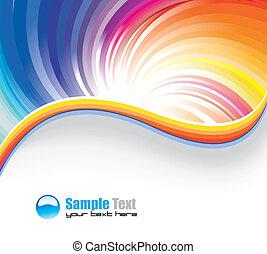 Business Rainbow Background