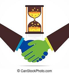 business relation concept design