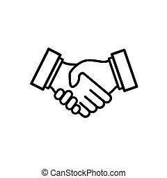 business, relationship., handshake.