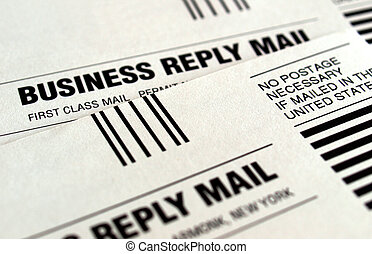 Business reply mail