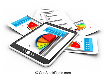 Business reports graph