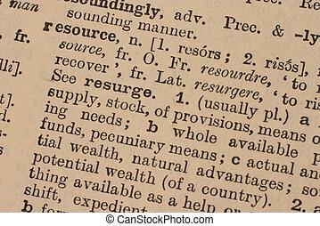 business:, resurs