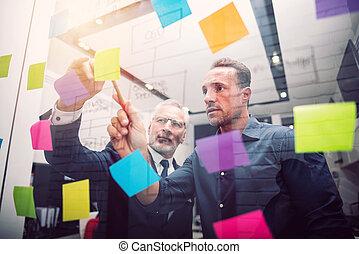 business, reussite, gens, ensemble., concept, travail, collaboration, association