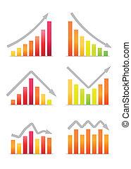 Business revenue charts