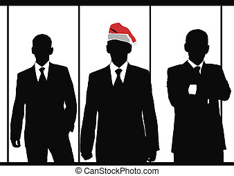 business, santa