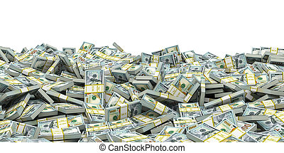 .business, scambio, pacchi, dollaro, soldi, banconote., fondo, mucchio, valuta, effetti, casato