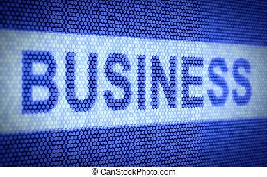 Business screen