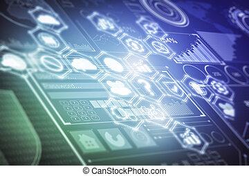 Business screen wallpaper
