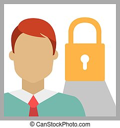 Business security graphic design