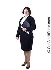 Business Senior Woman