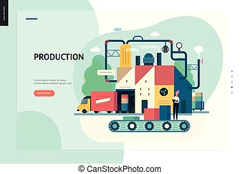 Business series - production web template