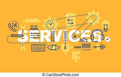 Business services web banner