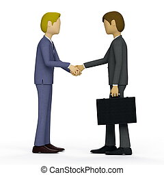 Business Shakehand