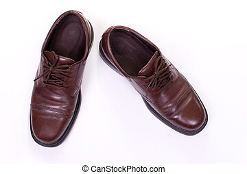 Business Shoes - Polished Leather Shoes