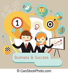 Business Show Success Achievement