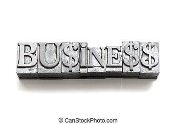Business, signe
