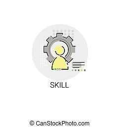 Business Skills Competence Achievement Icon