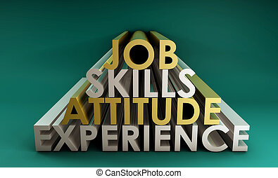 Business Skills for a Job Career in 3d